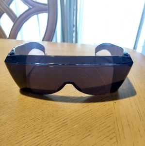 Solar shield glasses unisex